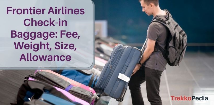 Frontier Airlines Check in Baggage